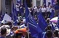 Marcha politica De El PCN. Durante los Comisios Presidenciales de El Salvador 2019.jpg