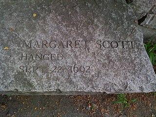 Margaret Scott (Salem witch trials) Hanged as part of the Salem witch trials