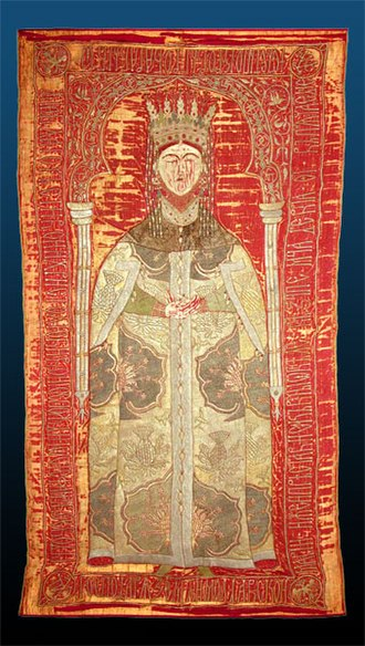 Principality of Theodoro - Burial shroud of Maria, sister of prince Isaac