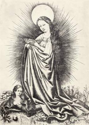 Master of the Playing Cards - Virgin Mary