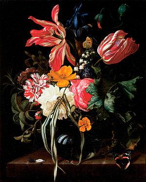 Maria van Oosterwijck - Flower Still Life, 1669, Cincinnati Art Museum