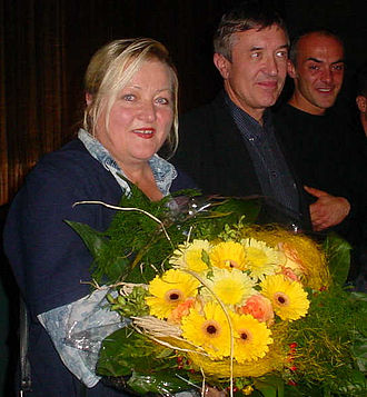 Rosalie Goes Shopping - Marianne Sägebrecht, star of Rosalie Goes Shopping
