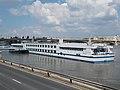 Maribelle (ship, 2000), Angelo Rotta quay, 2017 Budapest.jpg