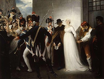Marie Antoinette being taken to her Execution, 1794.jpg