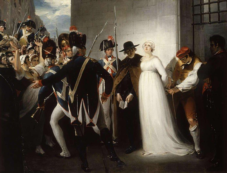 File:Marie Antoinette being taken to her Execution, 1794.jpg