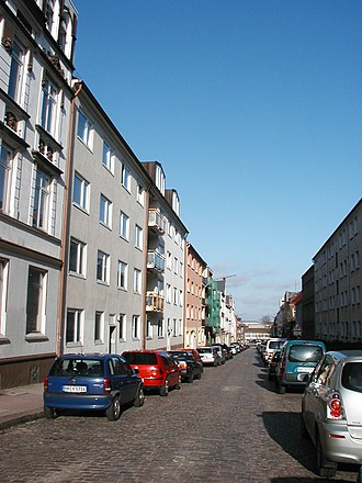 Mohamed Atta - The apartment Atta, Bahaji, and bin al-Shibh shared from 1998 until 2001 in Marienstrasse, Hamburg, Germany.