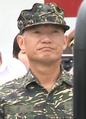 Marine Corps (ROCMC) Major General Tsai Lien-hui 海軍陸戰隊少將蔡連輝 (20160912 總統慰勉海軍陸戰隊66旅及陸軍裝甲542旅 0m11s).png
