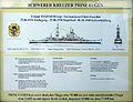 Marineehrenmal Laboe - Infotafel zu Prinz Eugen - 1.jpg