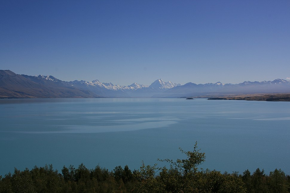 Marko Lake Pukaki, Mount Cook Far Away