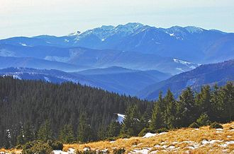 Carpathian Mountains - Maramureș Mountains in north of Romania