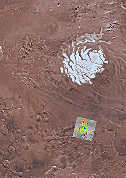Location of subsurface water in Planum Australe Mars-SubglacialWater-SouthPoleRegion-20180725.jpg