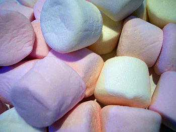 English: Marshmallows