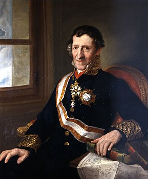 Order of Isabella the Catholic - Martín Fernández de Navarrete, librarian of the Royal Spanish Academy