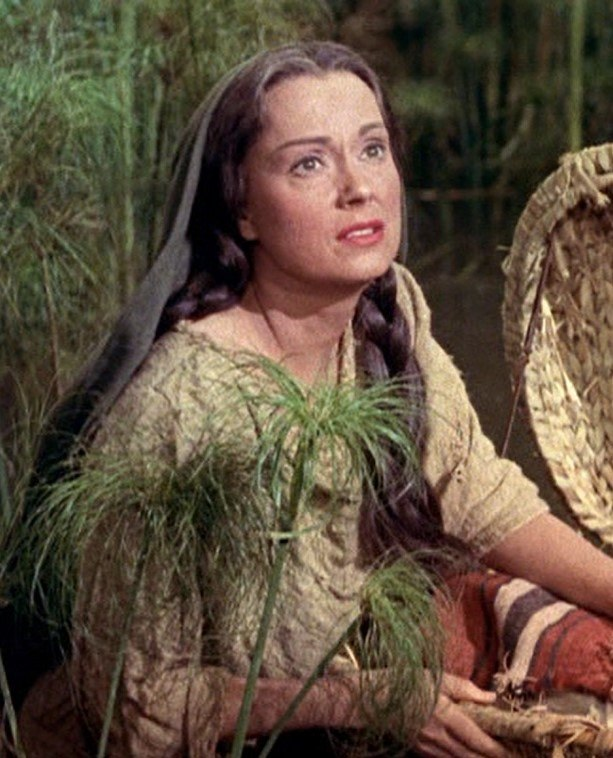 Martha Scott as Yochabel in The Ten Commandments trailer