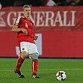 Martin Hinteregger playing for Austria vs Wales 01.jpg