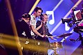 Martin Lindén 01 & Robert Jansson 01 @ Melodifestivalen 2017 - Jonatan Svensson Glad.jpg