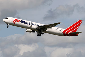 Martinair - A now retired Martinair Boeing 767-300ER passenger aircraft