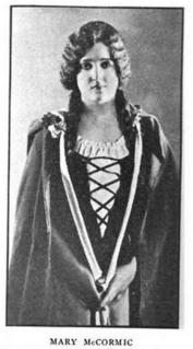 Mary McCormic American operatic soprano, 1920s; music educator, 1944–1966