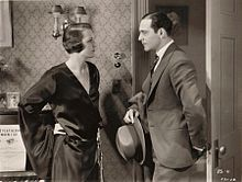 Mary Astor-Ricardo Cortez in Behind Office Doors.jpg