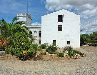 The Farm (Miró) - Main view of Mas Miró, the family farmhouse of Joan Miró.