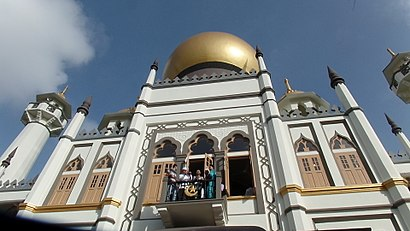 How to get to Sultan Mosque with public transport- About the place