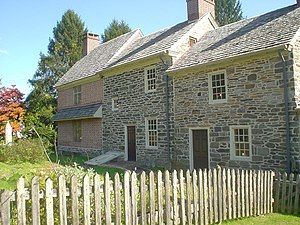 Marple Township, Delaware County, Pennsylvania - Seventeenth-century Thomas Massey House on Lawrence Road