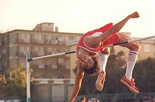 Massimo Di Giorgio Italian high jumper