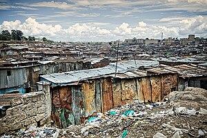 Mathare - The Mathare Valley slum