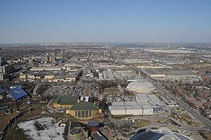 Maurice Richard Arena - Image: Maurice Richard Arena and area panoramio