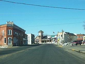 Mauston, Wisconsin - Mauston from Wisconsin Highways 58 / 82