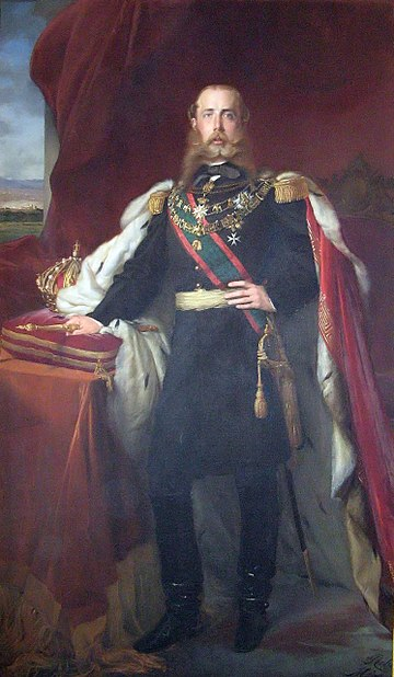 ファイル:Maximilian emperor of Mexico.jpg
