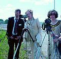 Mayor of Derby and Margaret Beckett MP at telescopes.jpg
