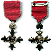 Mbe medal front and reverse