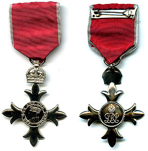 Member of the Order of the British Empire cover