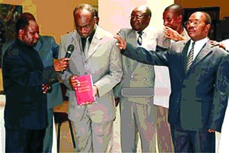 Mbunda people - Launching of the Mbunda Bible in Lusaka, Zambia.