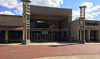 McAlister Square - Entrance to McAlister Square, October 2014