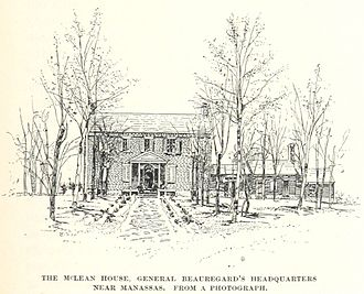 Wilmer McLean - McLean's first house, in Manassas