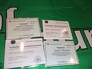 MdB Ausweis und Netzkarte