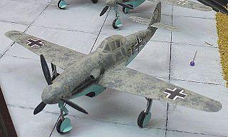 Messerschmitt Me 309 German fighter prototype