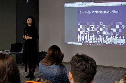Media Literacy and Wiki, lecture in WMAM office, March 16, 2018 (2).jpg