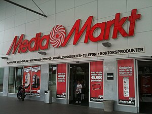 Media Markt at the shopping mall Högsbo 421 in...