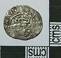 Medieval Coin , Penny of Edward IV (obverse) (FindID 586749).jpg