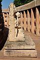 Meditating Buddha - South Side - East Gateway - Stupa 1 - Sanchi Hill 2013-02-21 4447.JPG