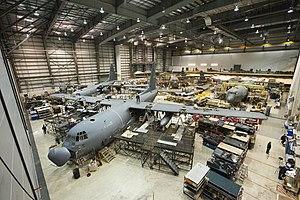 Cascade Aerospace - C130s in Cascade Aerospace's Hangar