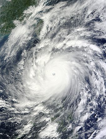Typhoon Megi (also known as Juan) over the Philippines - Philippines