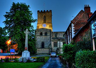 Melbourne, Derbyshire - Melbourne Church
