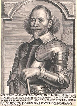 House of Hatzfeld - Count Melchior von Hatzfeldt (1593–1658), field marshal in the Thirty Years' War