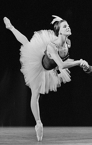 Melissa Hayden (dancer) - Hayden in 1965