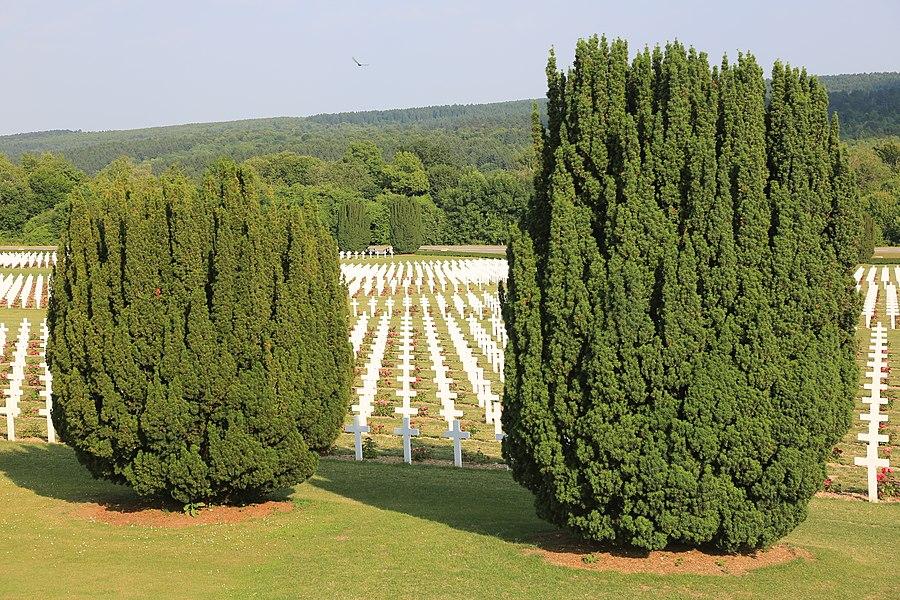 Douaumont ossuary. Memorial of the Battle of Verdun
