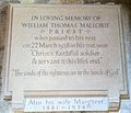 Memorial to William Thomas Mallorie in Ripon Cathedral.JPG